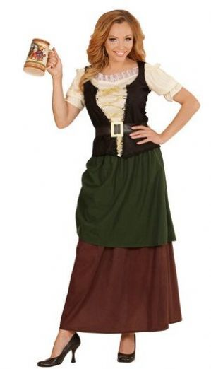 Medieval Tavern Wench Plus Size Costume 73404
